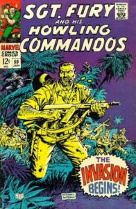 0050 157 196x300 Sgt Fury And His Howling Commandos [Marvel] V1