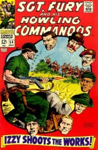 0054 139 196x300 Sgt Fury And His Howling Commandos [Marvel] V1