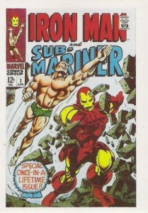 0055a 11 209x300 Marvel Super Heroes 1st Issue Covers 1984 Card Set