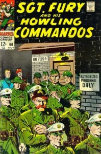 0060 130 198x300 Sgt Fury And His Howling Commandos [Marvel] V1