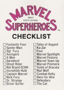 0060a 13 214x300 Marvel Super Heroes 1st Issue Covers 1984 Card Set