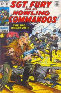 0061 132 197x300 Sgt Fury And His Howling Commandos [Marvel] V1