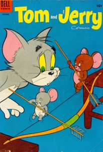 0123 70 205x300 Tom And Jerry Comics [Dell] V1