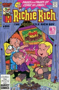 0250 20 199x300 Richie Rich  The Poor Little Rich Boy [Harvey] V1
