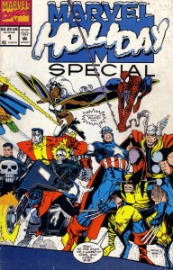 1991 192x300 Marvel Holiday Special