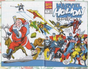 1991 wrap 300x237 Christmas Comic Book Covers