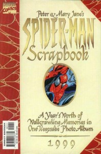 1999 2 198x300 Peter and Mary Janes Spider Man Scrapbook   1999 [Marvel] OS1