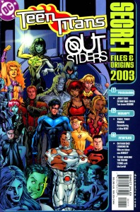 2003 6 198x300 Teen Titans  Outsiders  Secret Files And Origins [DC] OS1