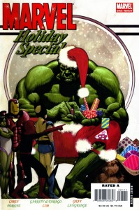 2006 6 199x300 Christmas Comic Book Covers