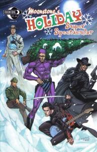 2007 1 193x300 Christmas Comic Book Covers