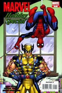 2008 1 201x300 Christmas Comic Book Covers