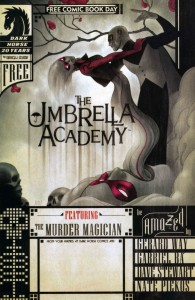 FCBD 31 195x300 Umbrella Academy  Zero Killer  Pantheon City [Dark Horse] FCBD