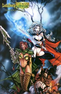 Preview A 11 195x300 Lady Death  Medieval Witchblade [Chaos   Image Top Cow] V1