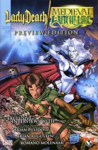 Preview B 11 196x300 Lady Death  Medieval Witchblade [Chaos   Image Top Cow] V1