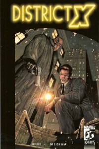 TPB 02 12 200x300 District X [Marvel Knights] V1