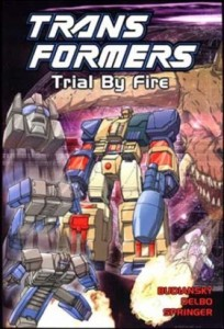 TPB 1087 204x300 Transformers: Trial By Fire