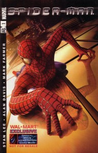 Wal Mart 192x300 Spider Man  Movie [Marvel] V1
