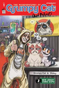 0001k NJ ComicExpo Haeser 200x300 Grumpy Cat (And Pokey!)