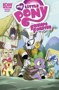 0021 198x300 My Little Pony: Friends Forever