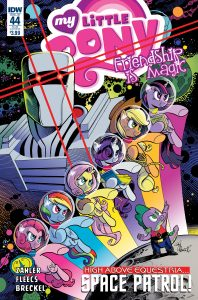 0044 Subscription 198x300 My Little Pony: Friends Forever