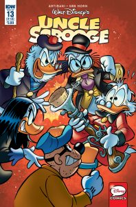 Scrooge13 cvr MOCKONLY 198x300 Uncle Scrooge