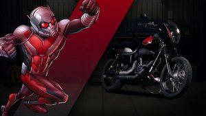 harley custom ant man 300x169 27 custom Marvel motorcycles