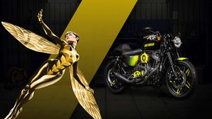 harley custom wasp 300x169 27 custom Marvel motorcycles