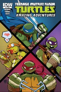 0003 10 198x300 Teenage Mutant Ninja Turtles: Amazing Adventures
