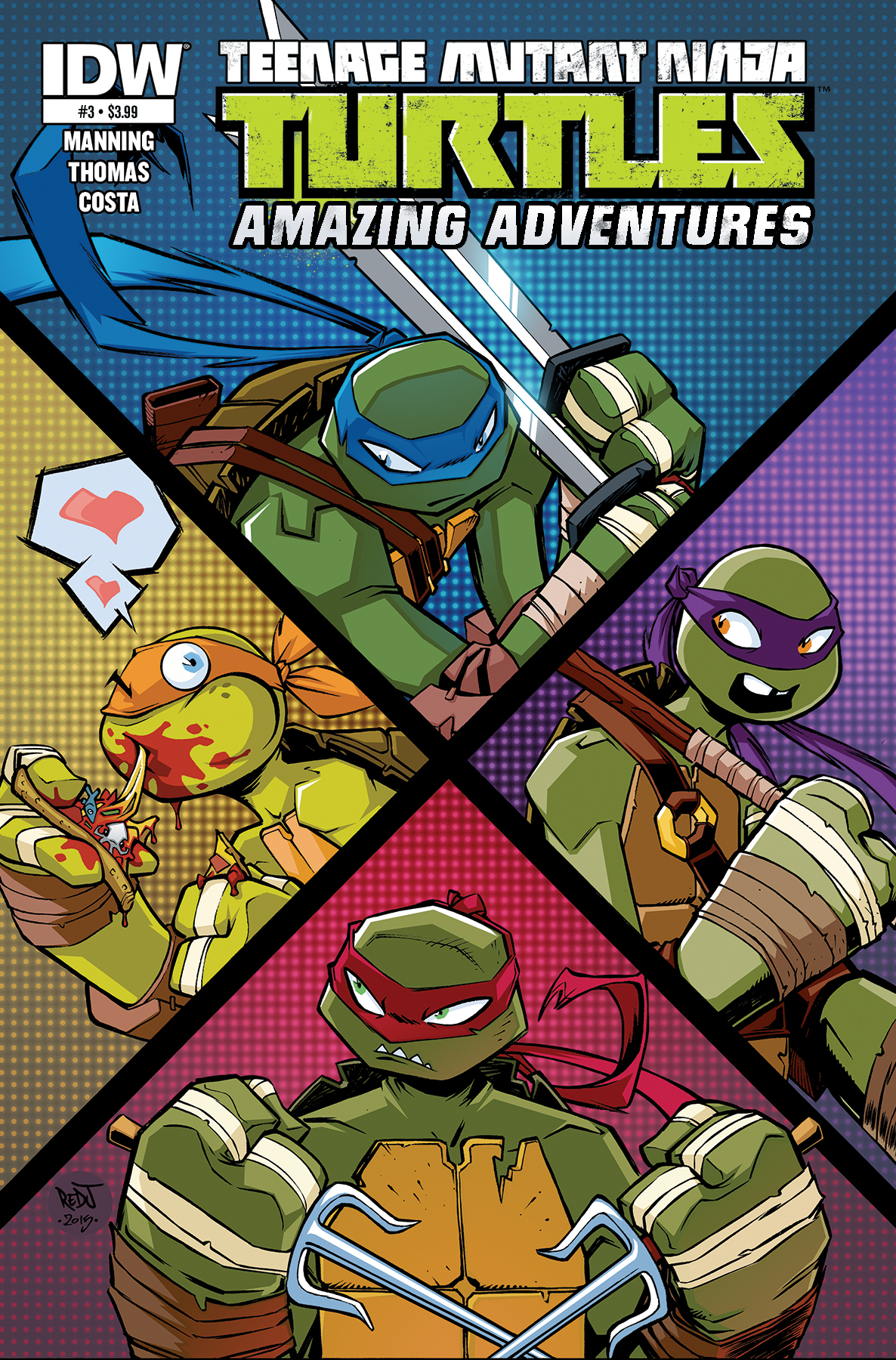 Teenage Mutant Ninja Turtles: Amazing Adventures 0003