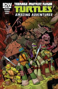 0004 15 198x300 Teenage Mutant Ninja Turtles: Amazing Adventures
