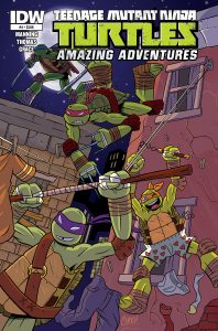 0004 Sub 1 198x300 Teenage Mutant Ninja Turtles: Amazing Adventures