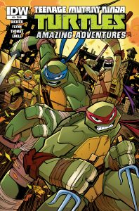 0005 9 198x300 Teenage Mutant Ninja Turtles: Amazing Adventures