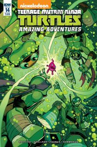 0014 198x300 Teenage Mutant Ninja Turtles: Amazing Adventures