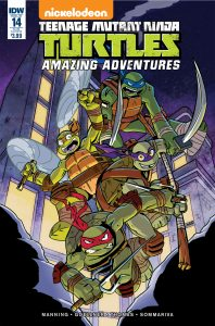 0014 Sub 198x300 Teenage Mutant Ninja Turtles: Amazing Adventures