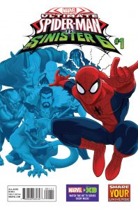 0001 14 198x300 Ultimate Spider man Vs The Sinister Six