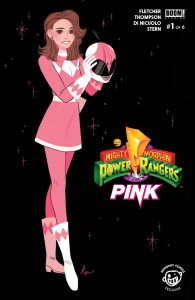0001 Newbury Comics 195x300 Mighty Morphin Power Rangers: Pink