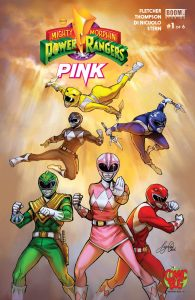 0001 The Comic Bug 195x300 Mighty Morphin Power Rangers: Pink