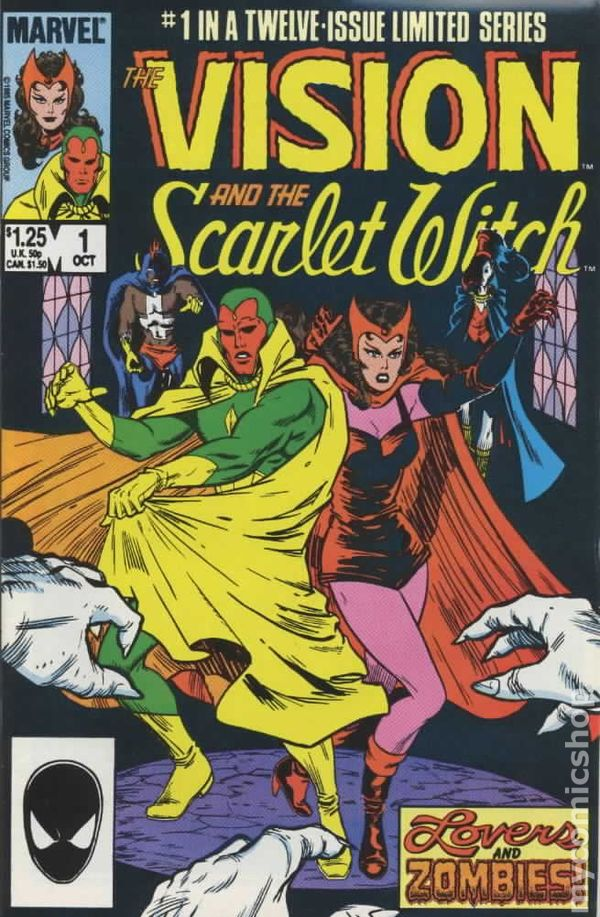 Vision and the Scarlet Witch 0001
