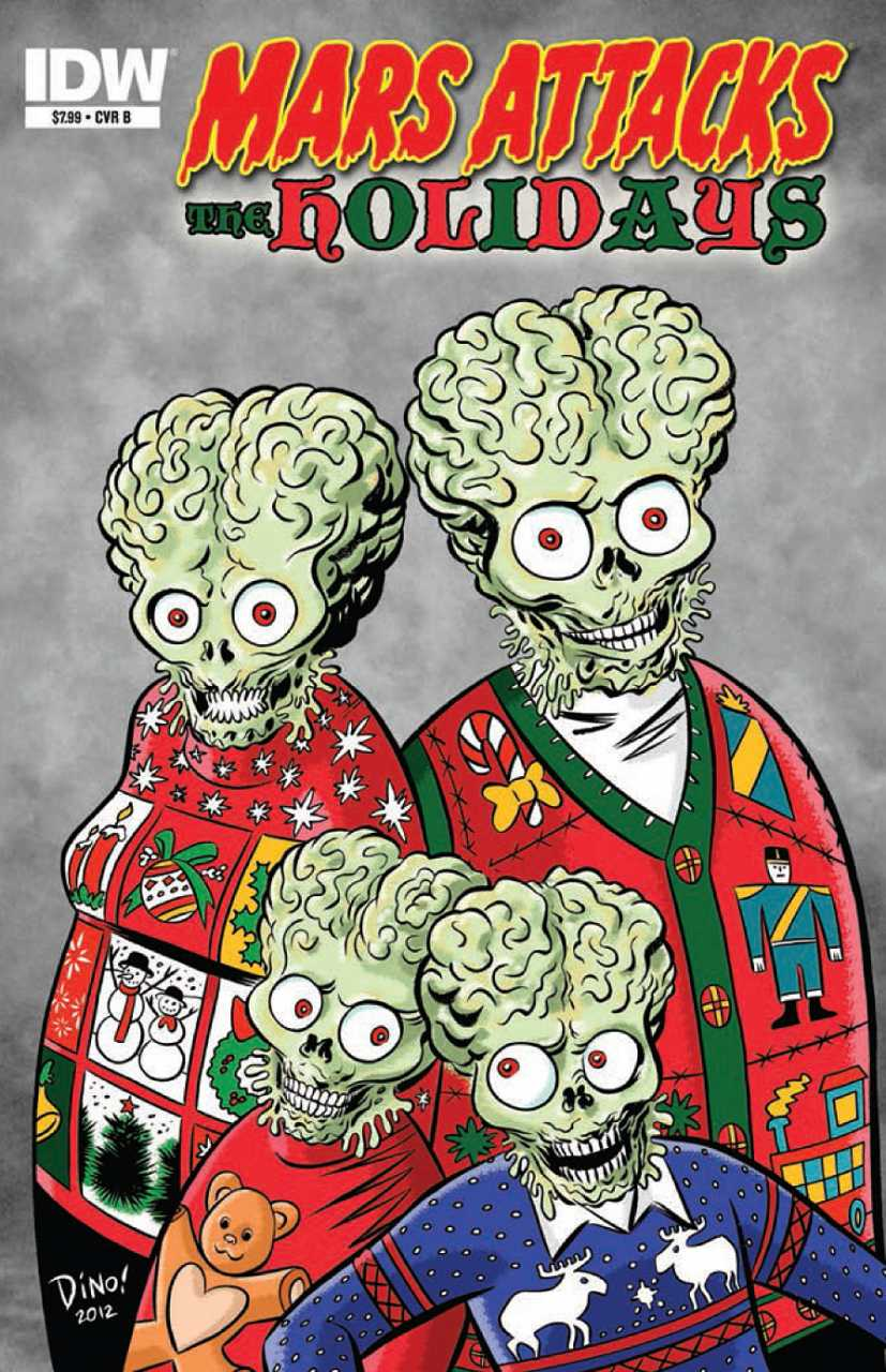 Mars Attacks: The Holidays 0001b