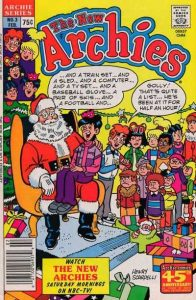 0003 7 196x300 Christmas Comic Book Covers