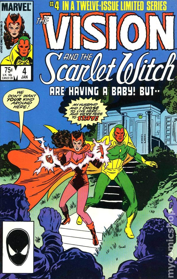 Vision and the Scarlet Witch 0004