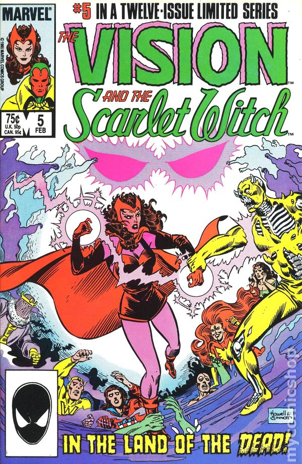 Vision and the Scarlet Witch 0005