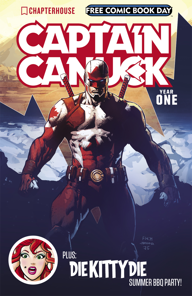 FCBD 2017 CHAPTERHOUSE CAPTAIN CANUCK Free Comic Book Day 2017 Is Here!