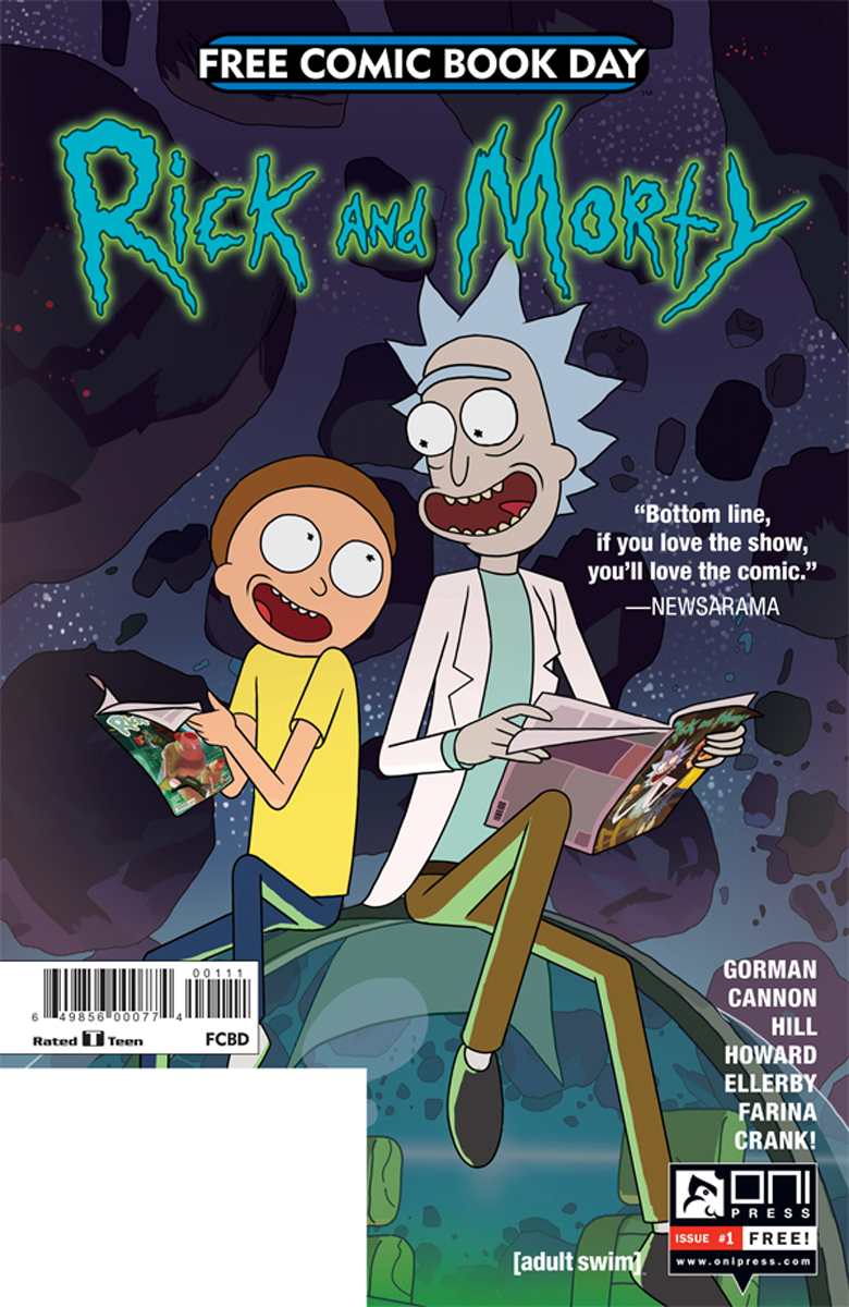 Fcbd 2017 Rick Morty Comiccovers