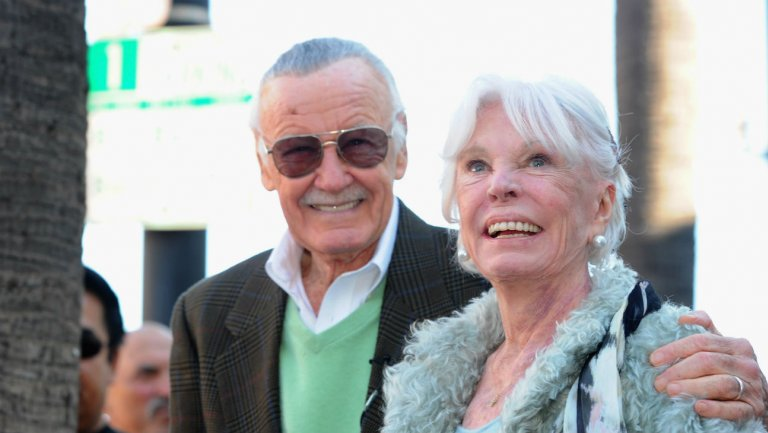 stan and joan lee Joan Lee, Wife of Marvel Comics Legend Stan Lee, Dies at 95