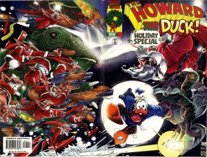 0001 Wrap Around 300x228 Howard The Duck: Holiday Special