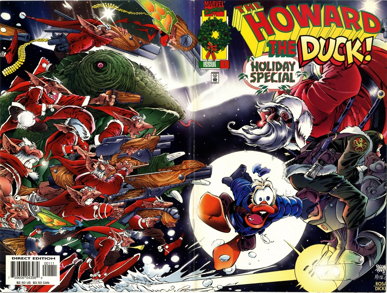 Howard The Duck: Holiday Special 0001 Wrap Around