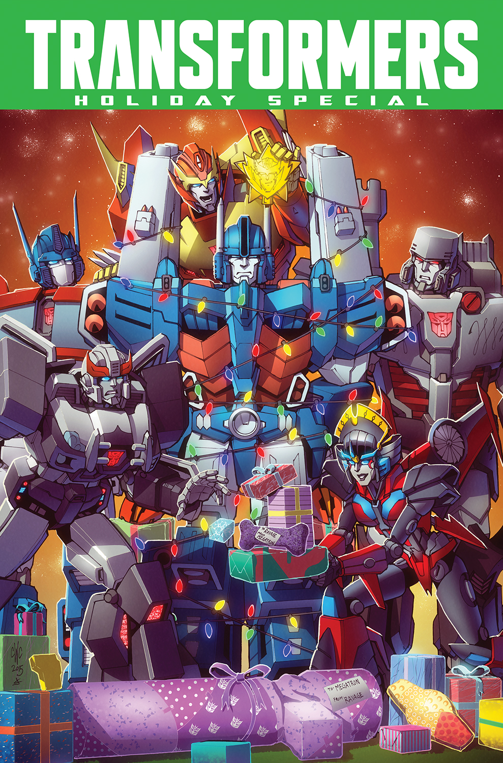 Transformers: Holiday Special 2015