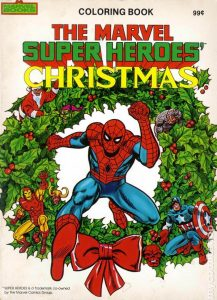 0001 217x300 The Marvel Super Heroes Christmas