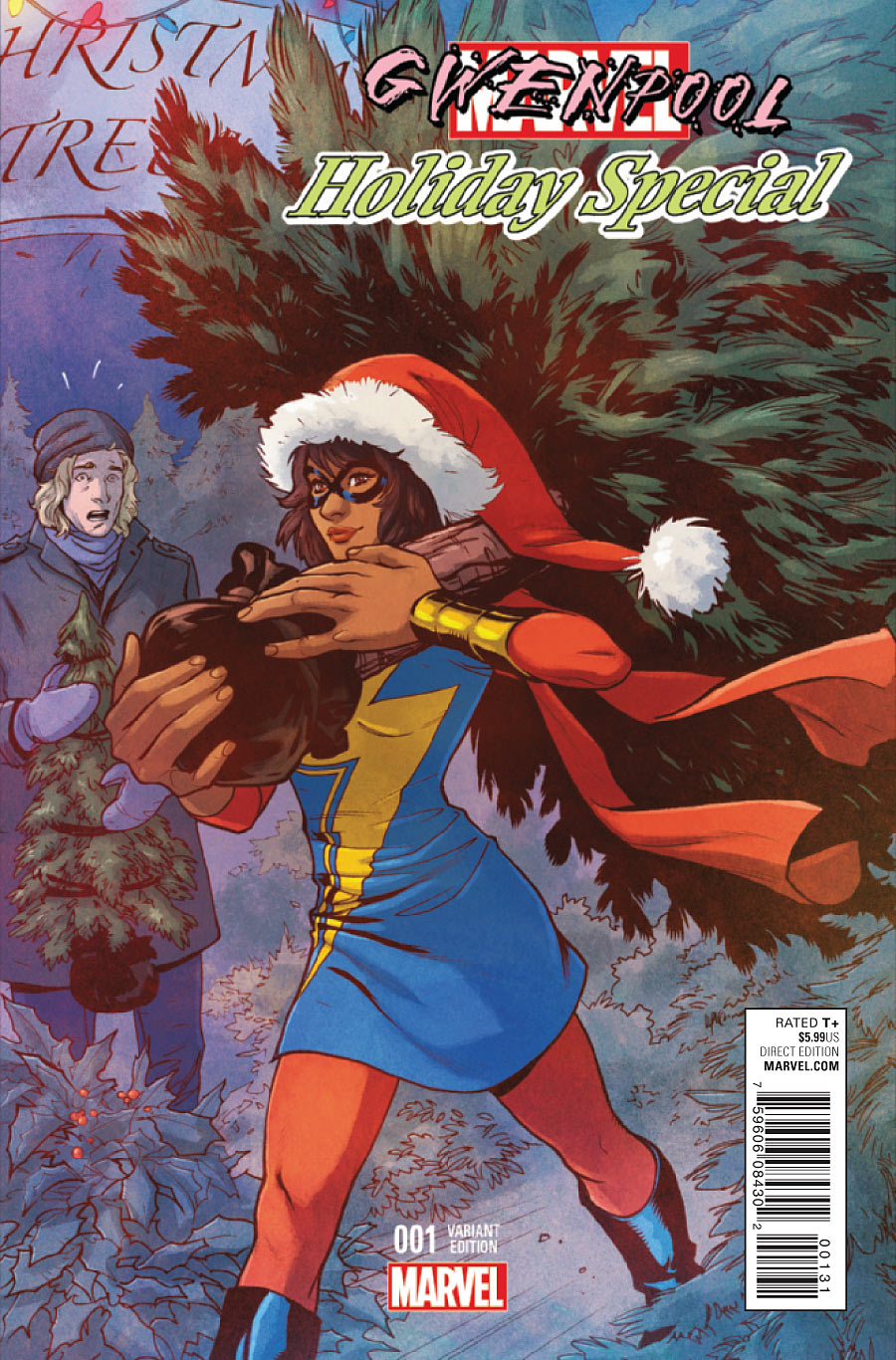 Gwenpool: Holiday Special 0001c Ms Marvel Variant